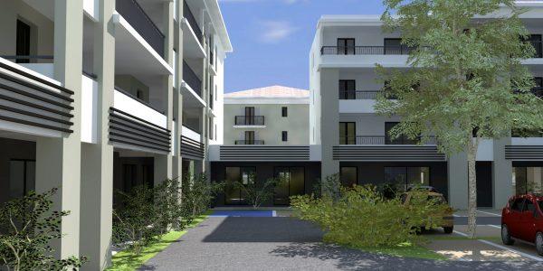 Le programme immobilier neuf Le Forum à Folelli lance sa commercialisation